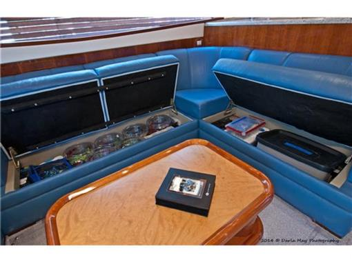 2006 63 Bertram- Salon Storage