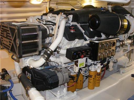 2006 63 Bertram- Starboard Engine