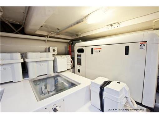2006 63 Bertram- Generator Starboard