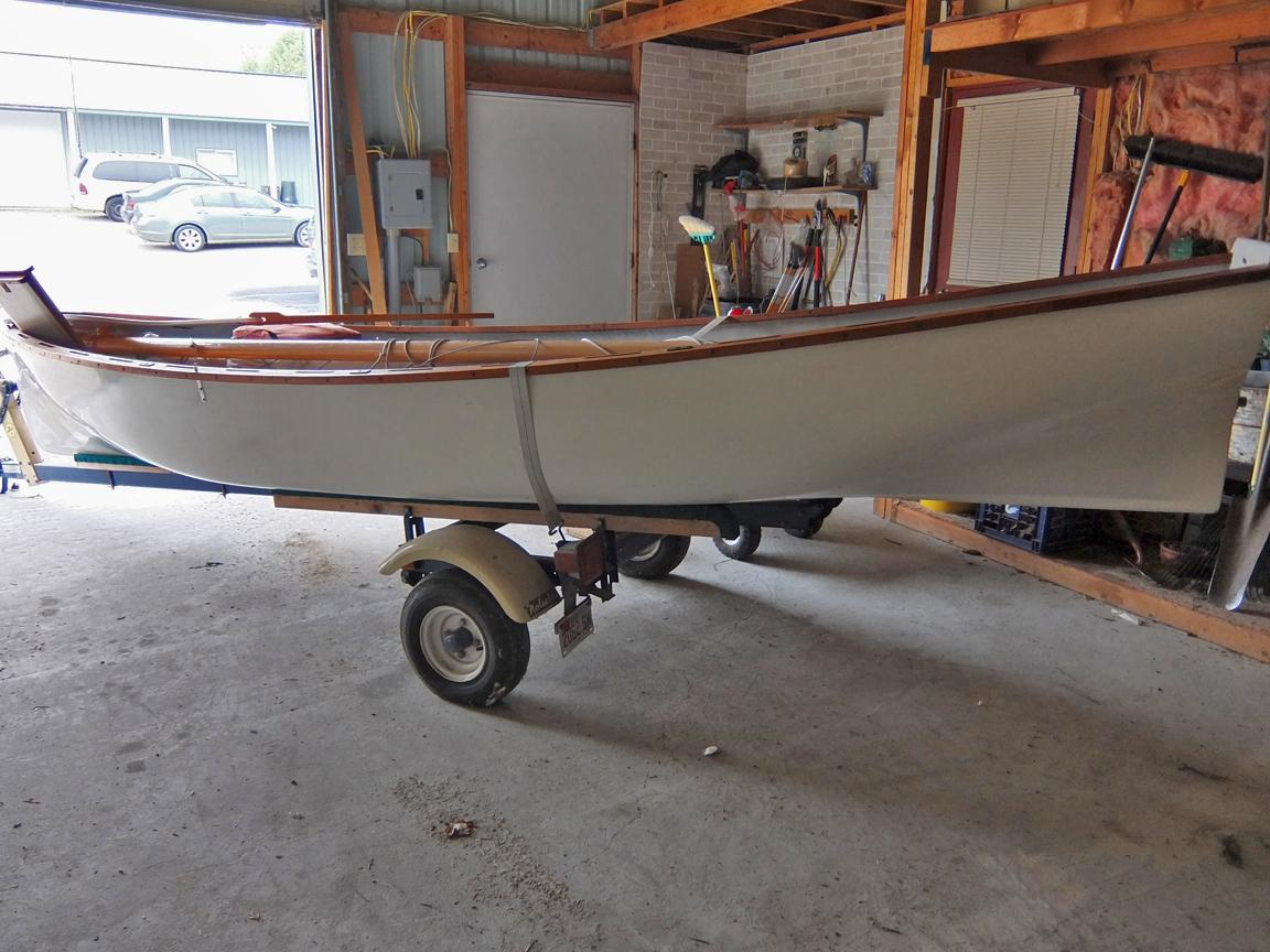 1980 White Hall 16' Sailing Boat