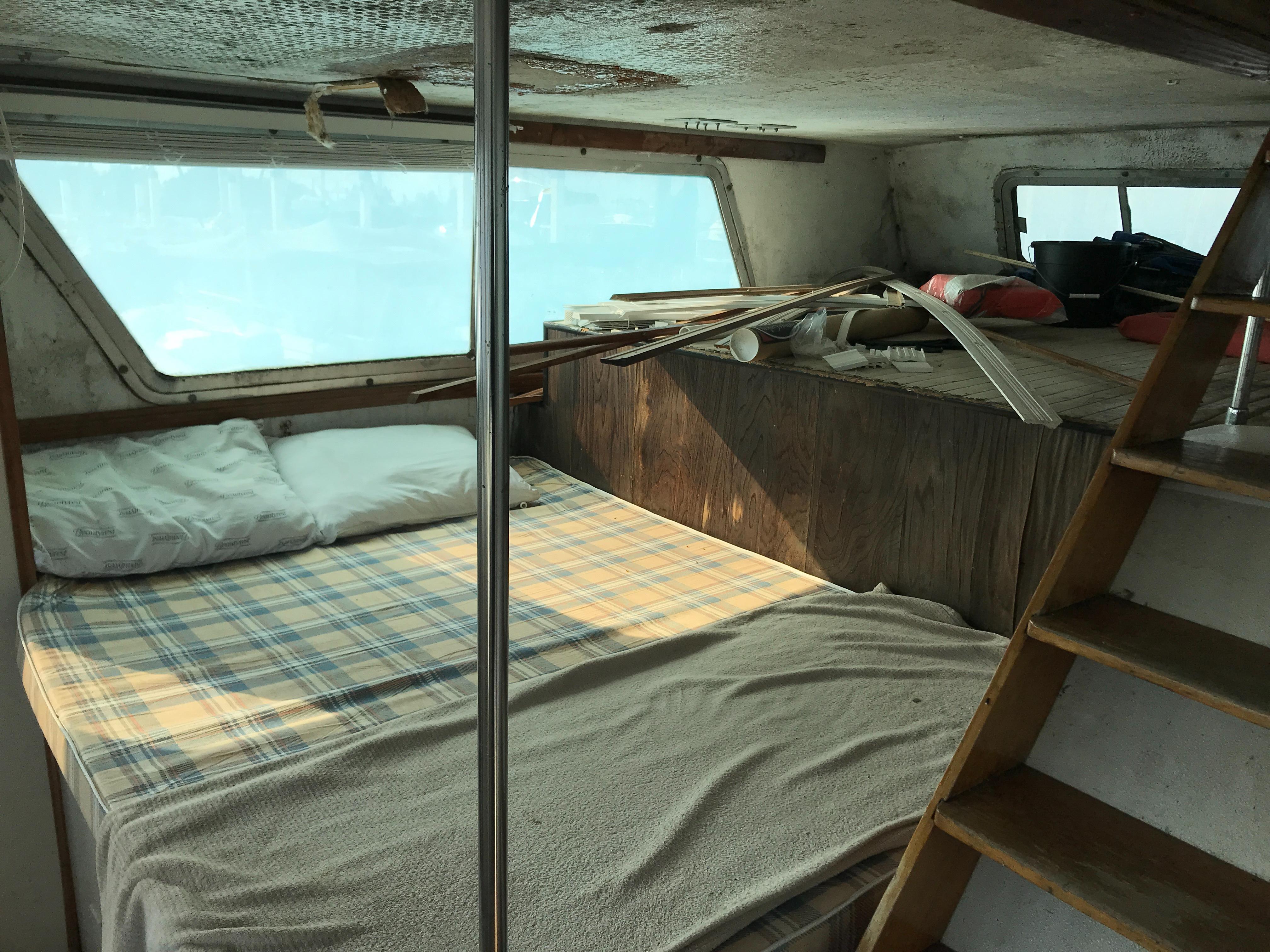 Carri-craft 57 Catamaran - forward berth