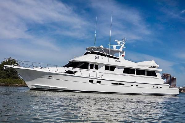 1990 78' Hatteras Motor Yacht