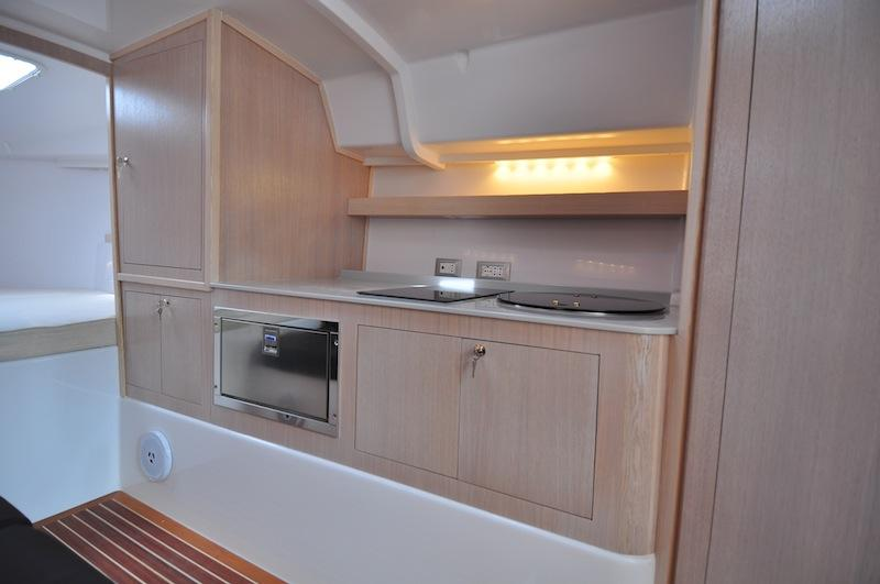 Interior - Starboard Galley