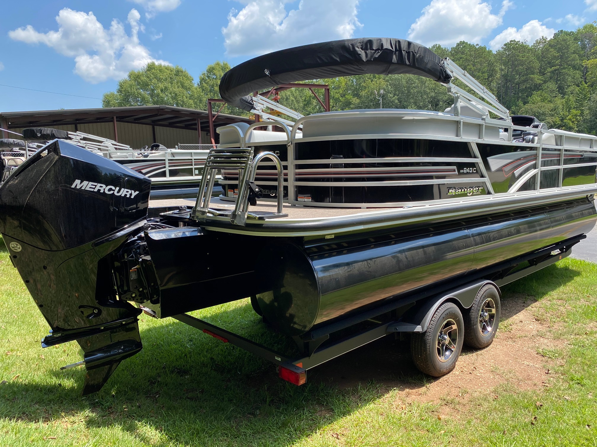 2020 Ranger Boats boat for sale, model of the boat is REATA 243C w/200L 4S DTS & Image # 38 of 50