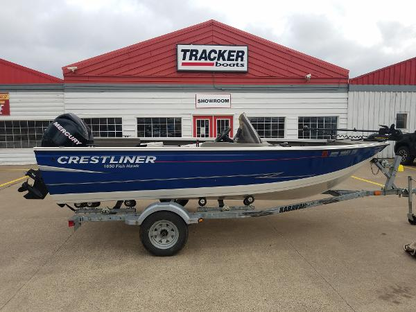 2012 CRESTLINER 1650 FISH HAWK for sale