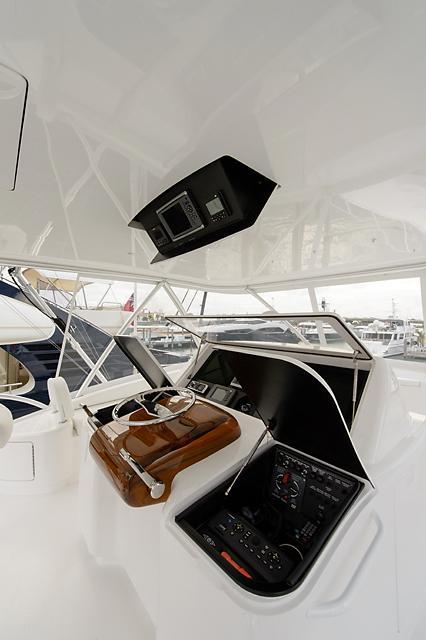 Flybridge Helm Starboard