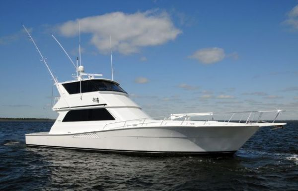 Viking Convertible Enclosed Flybridge Sports Fishing Boats
