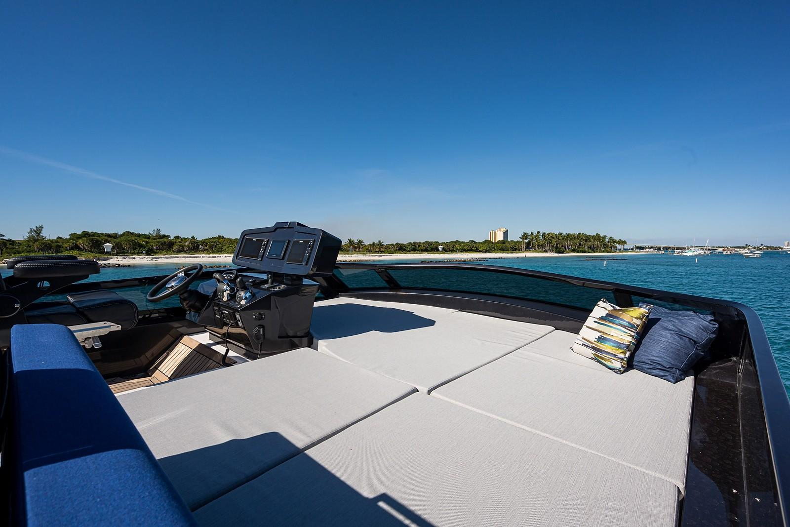 Fly Bridge Sun Pad