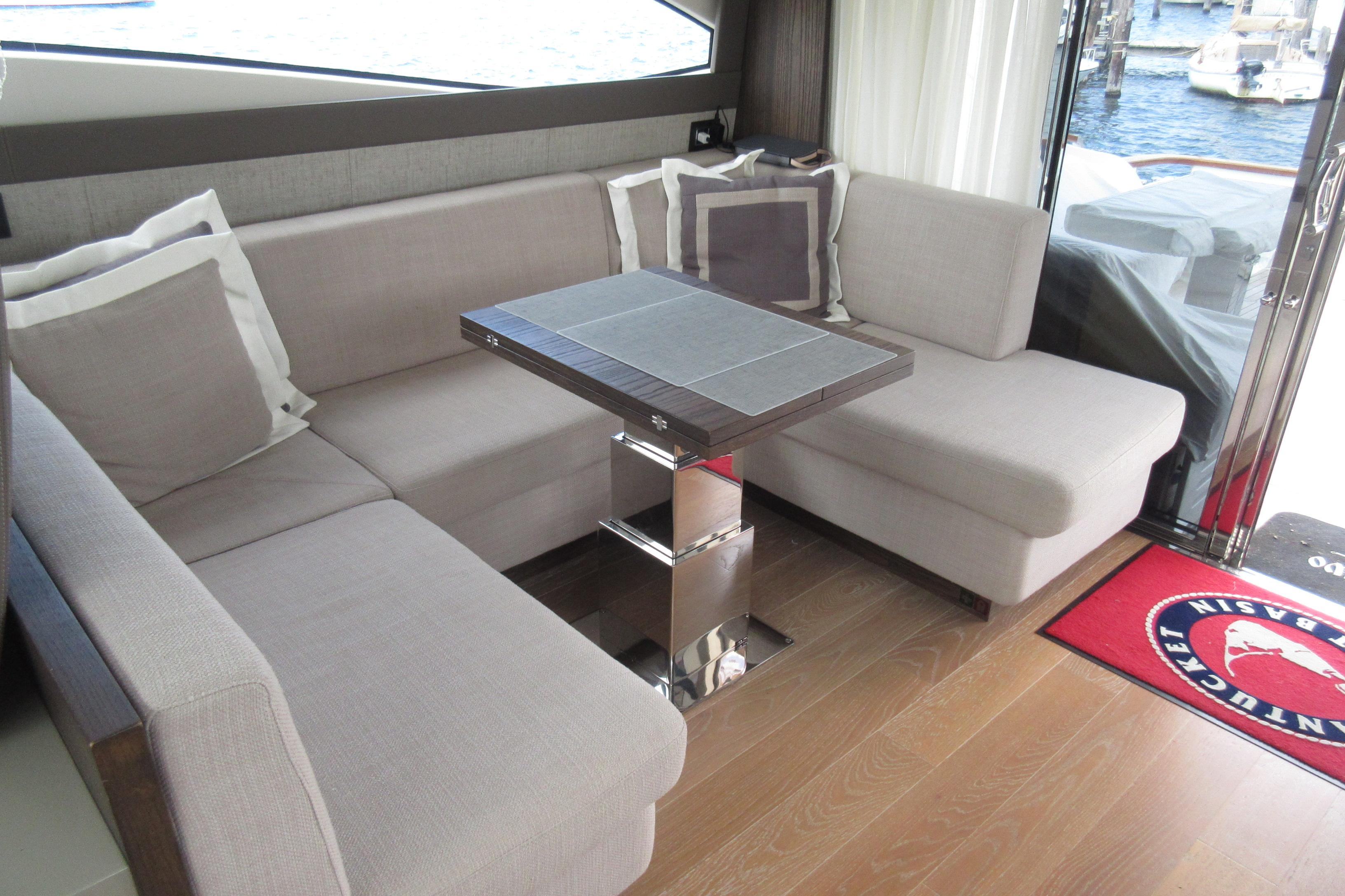 Austin Parker 54 Ketel Two Stbd Settee from fwd