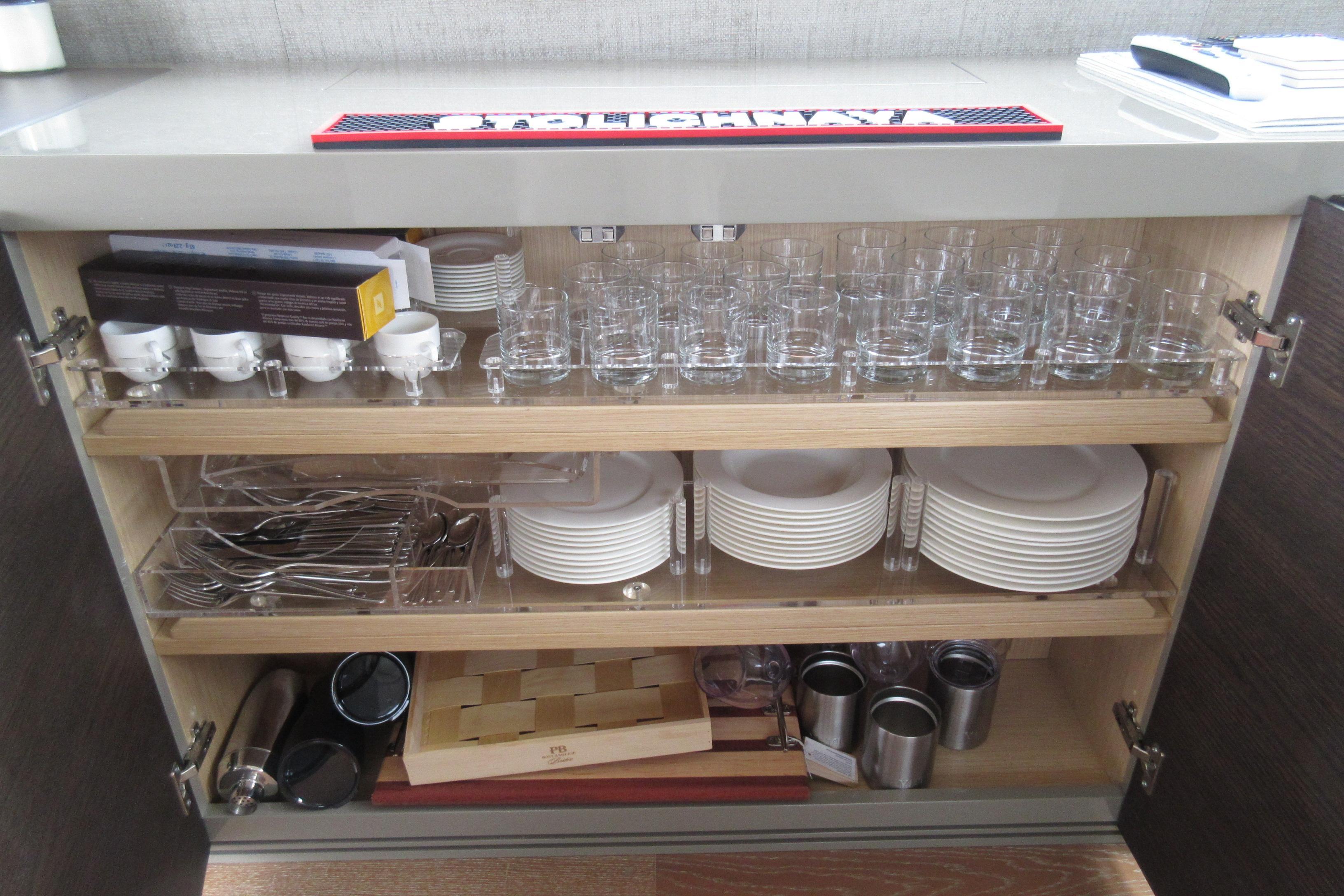 Austin Parker 54 Ketel Two Salon storage