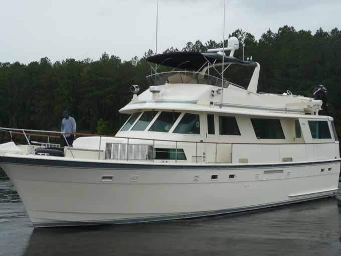 1985 hatteras flush deck flybridge motoryacht for sale for 50 ft motor yachts for sale