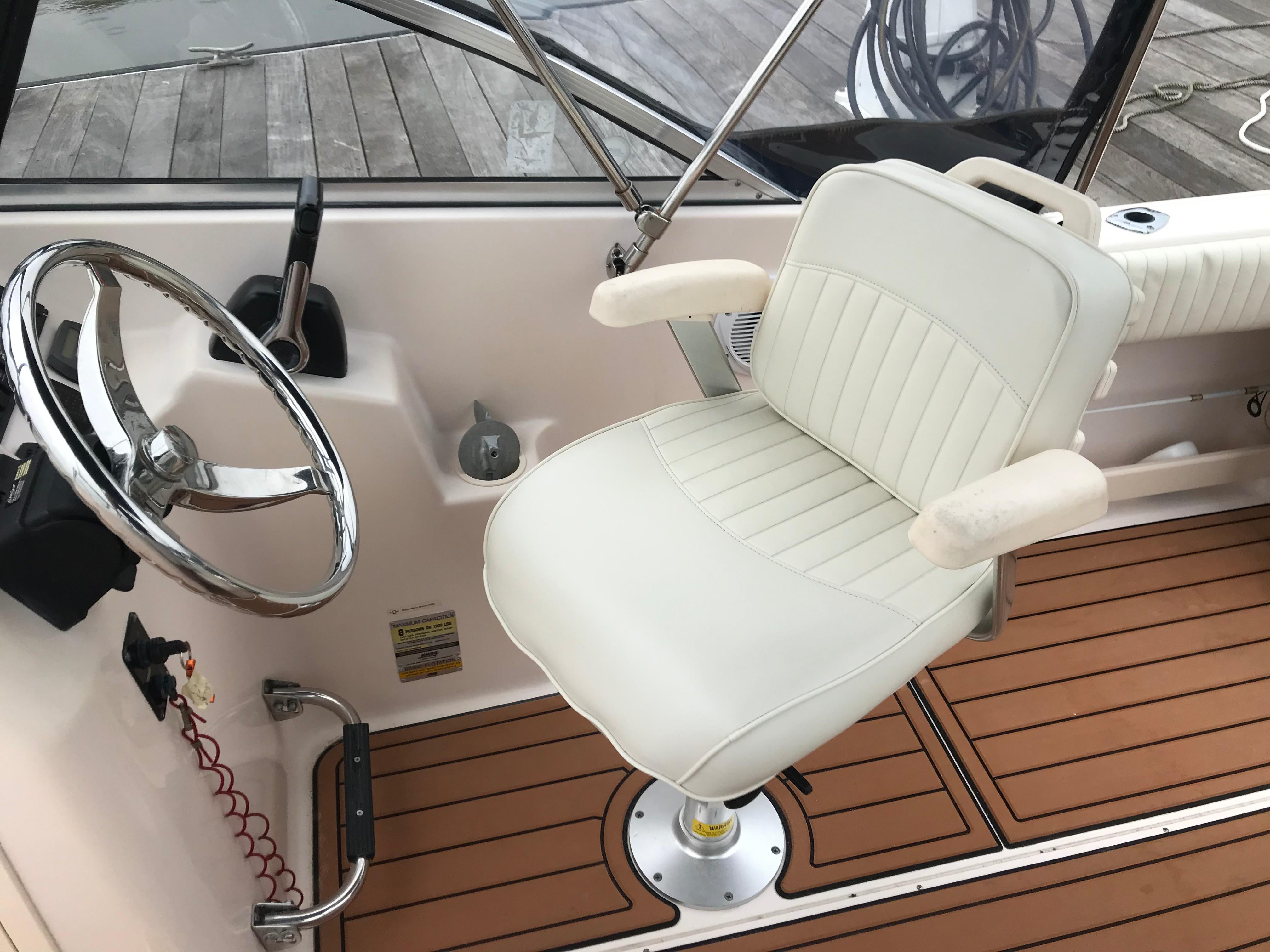 Grady-white 225 Tournament Dual Console - Pedistal Helm Seat