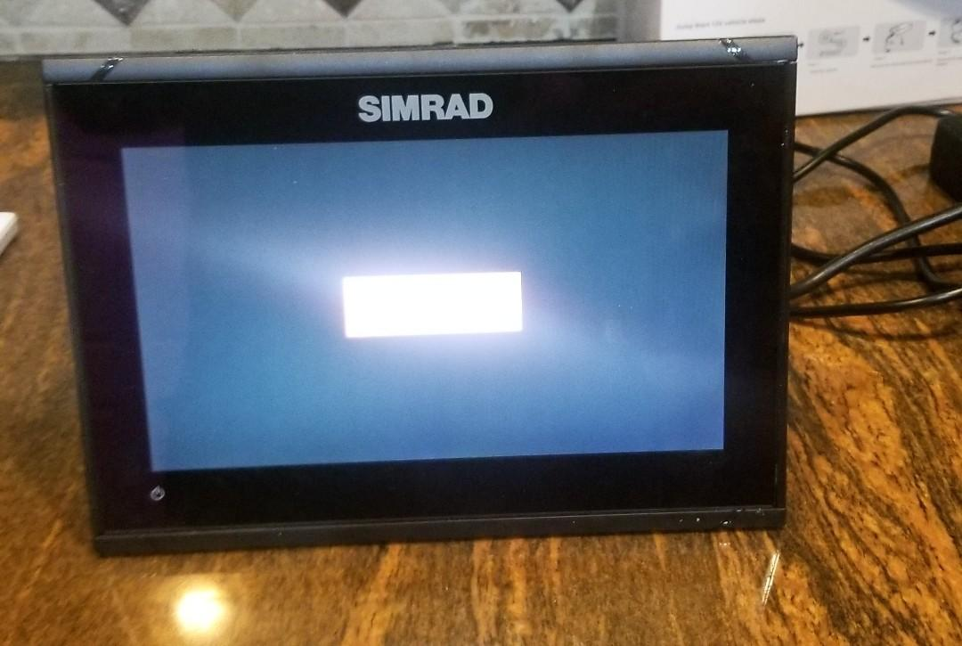 Grady-white 225 Tournament Dual Console - Simrad GPS- Gimball Mounts in Electronics Box