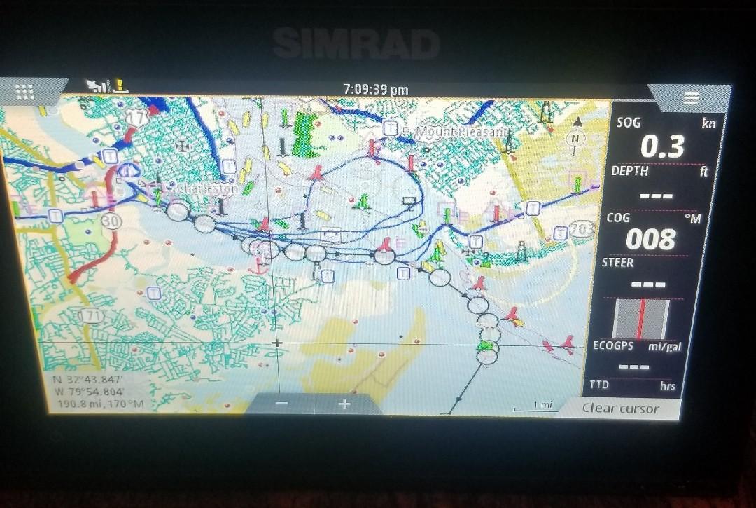 Grady-white 225 Tournament Dual Console - Simrad GPS Screen