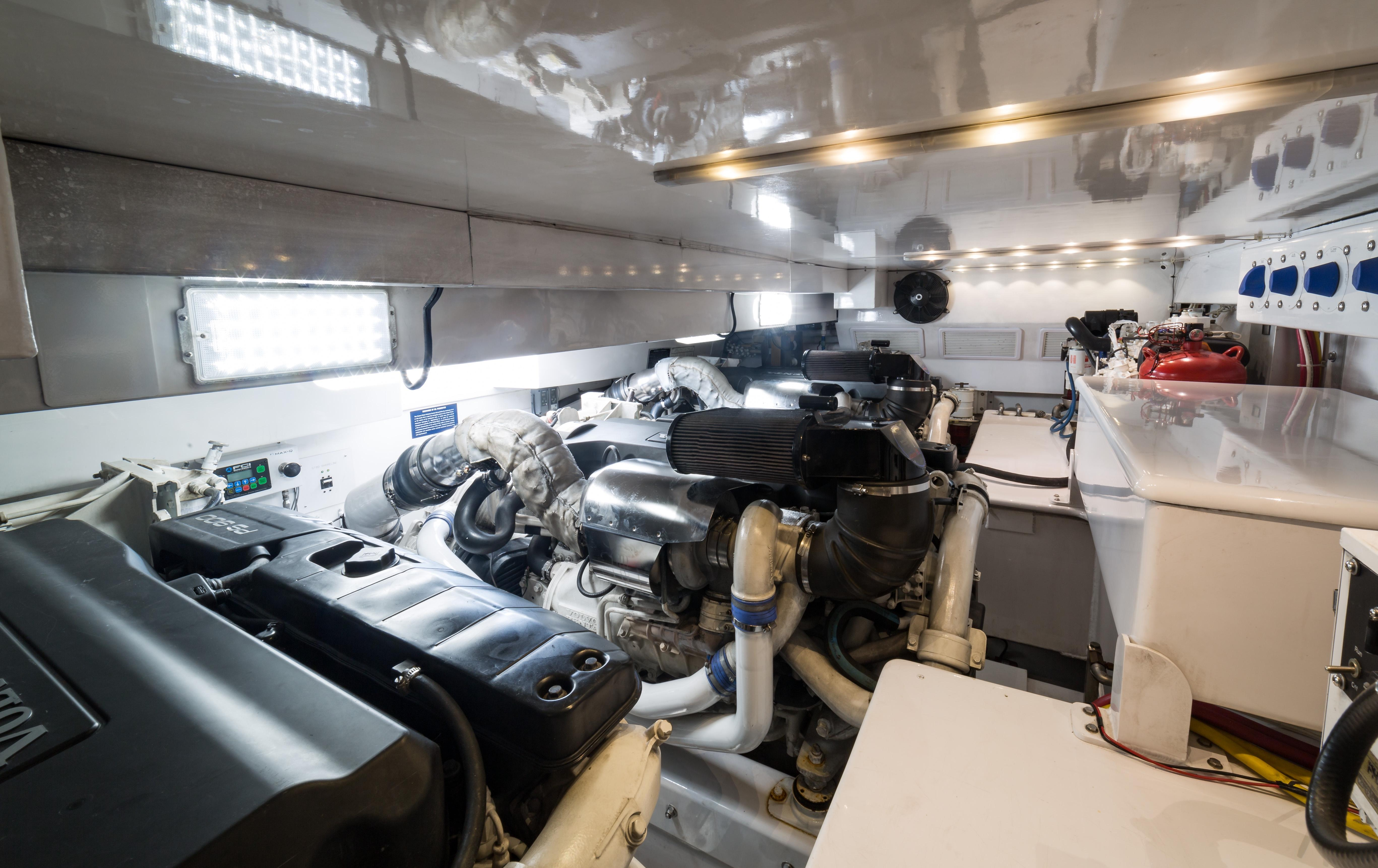 Engine room overview