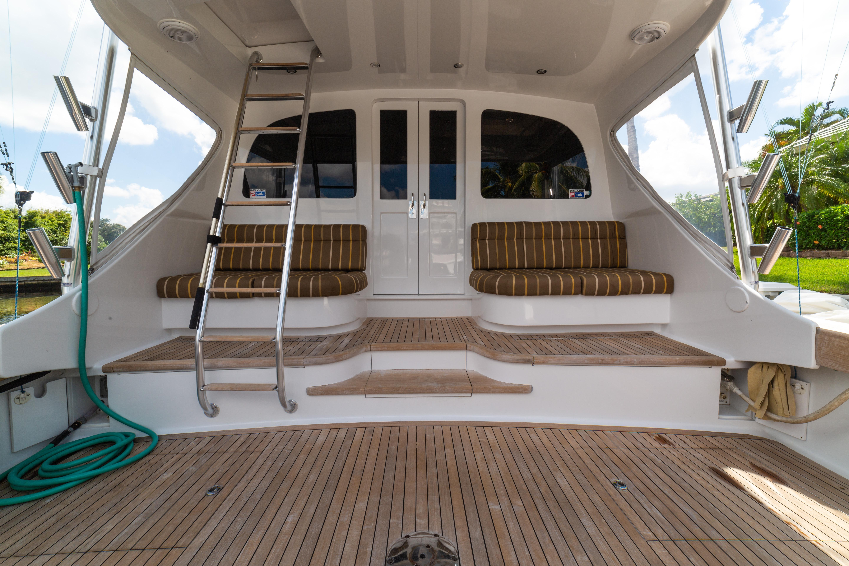 Huge Teak Cockpit with Mezzanine