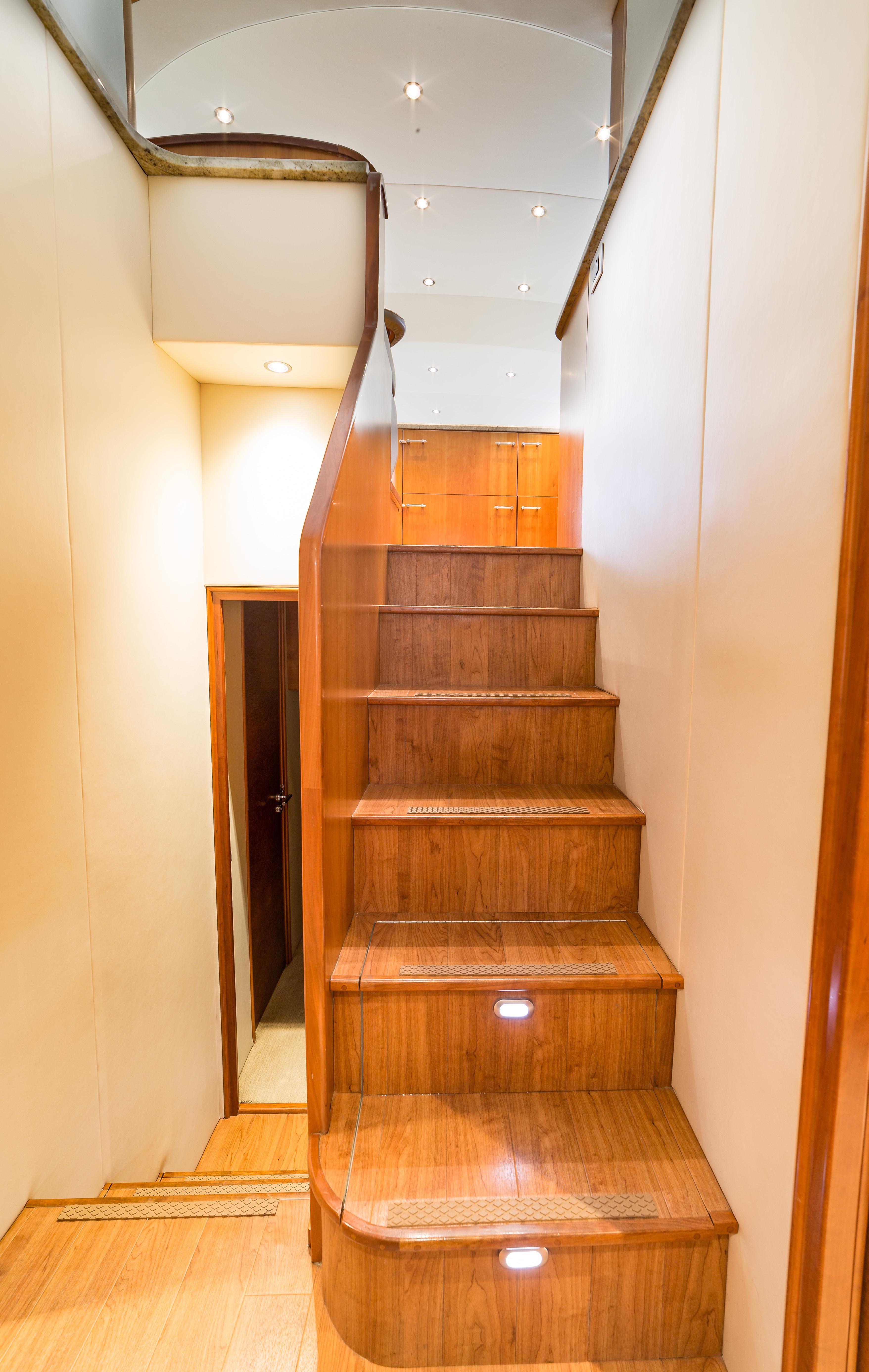 Lower Cabin Stairwell