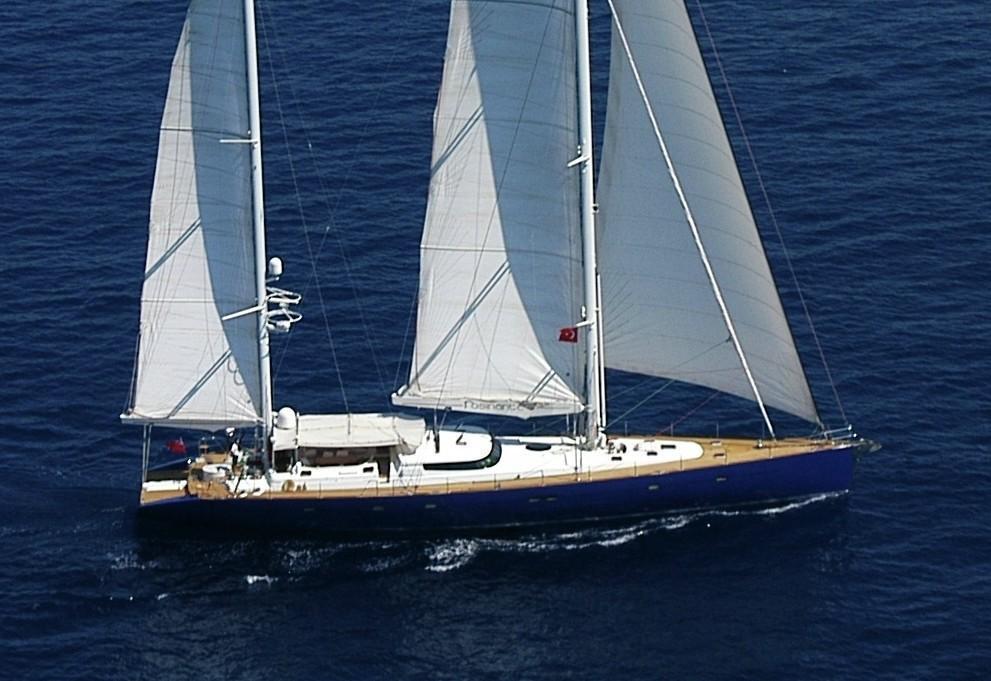 Custom Notika 33m Sailing Yacht