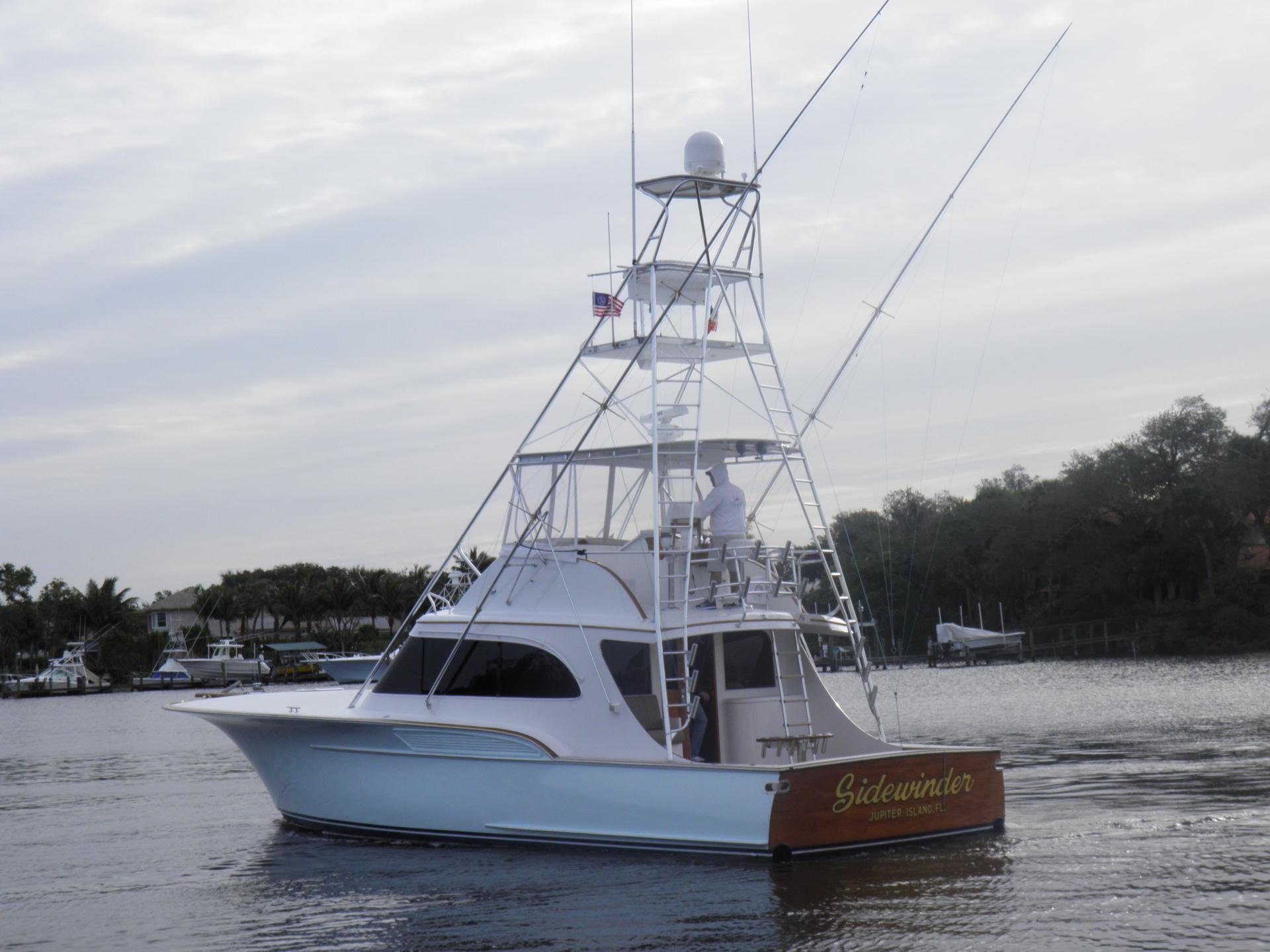 47 buddy davis 1986 sidewinder for sale in stuart  florida