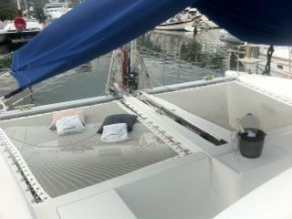 Foredeck with Sunbrella Awning