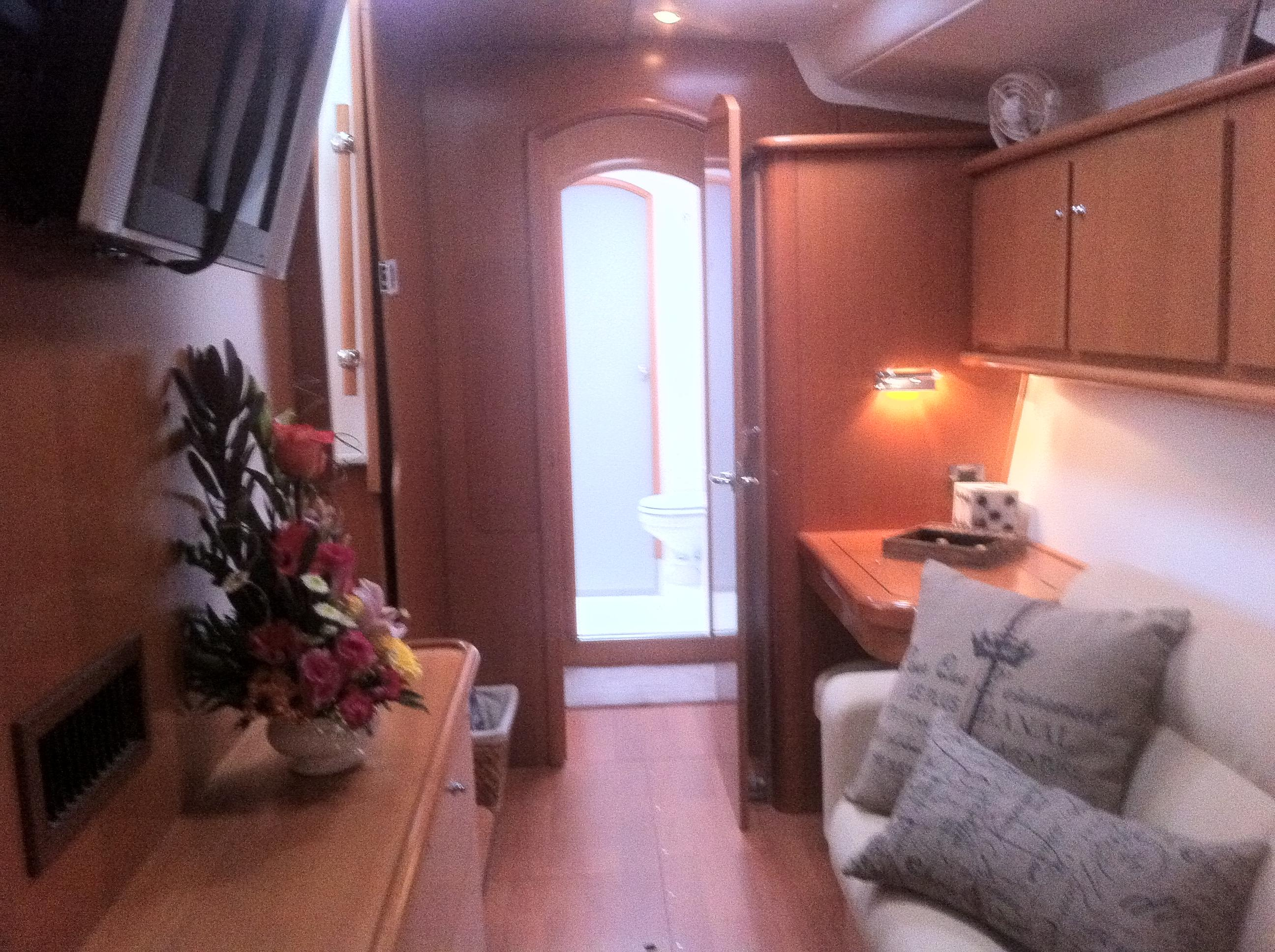 Master Stateroom (aft looking fwd)