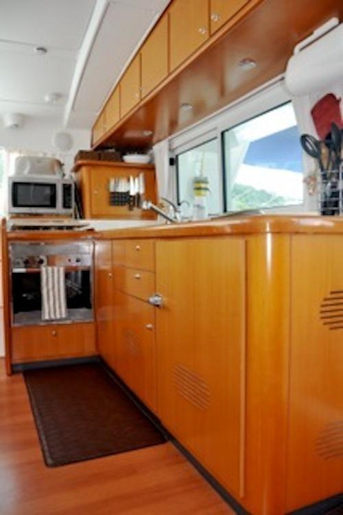 Galley (with pass through window)