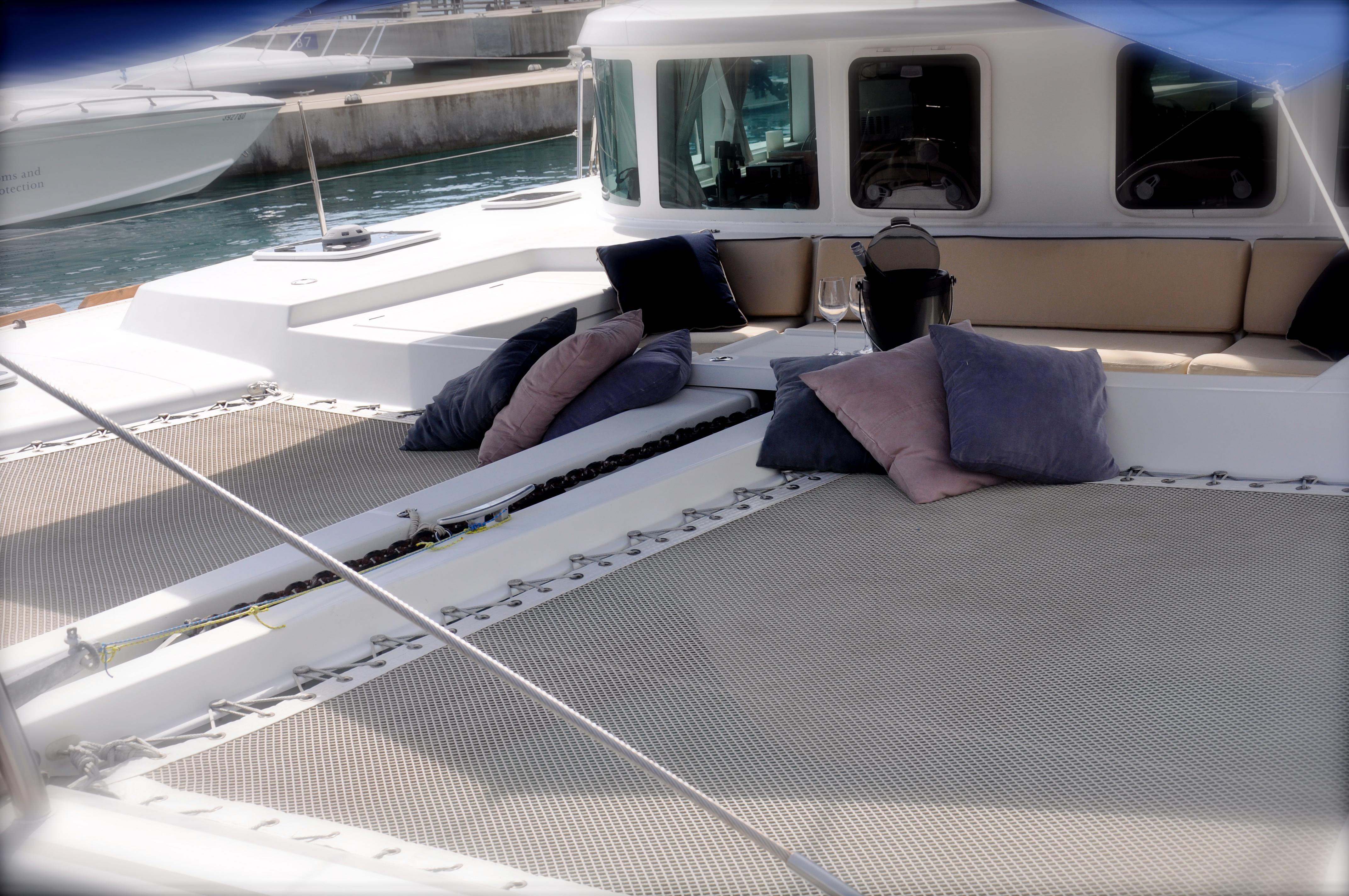 Foredeck (w/Sunbrella Awning and Cushions)