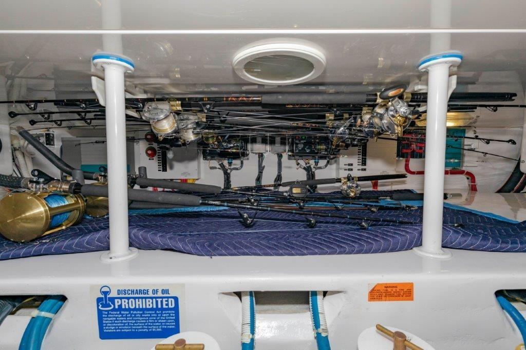 Engine Room Rod Storage
