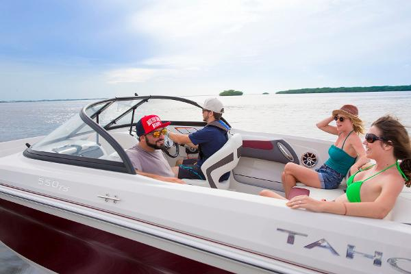 2016 Tahoe boat for sale, model of the boat is 550 TS & Image # 33 of 35