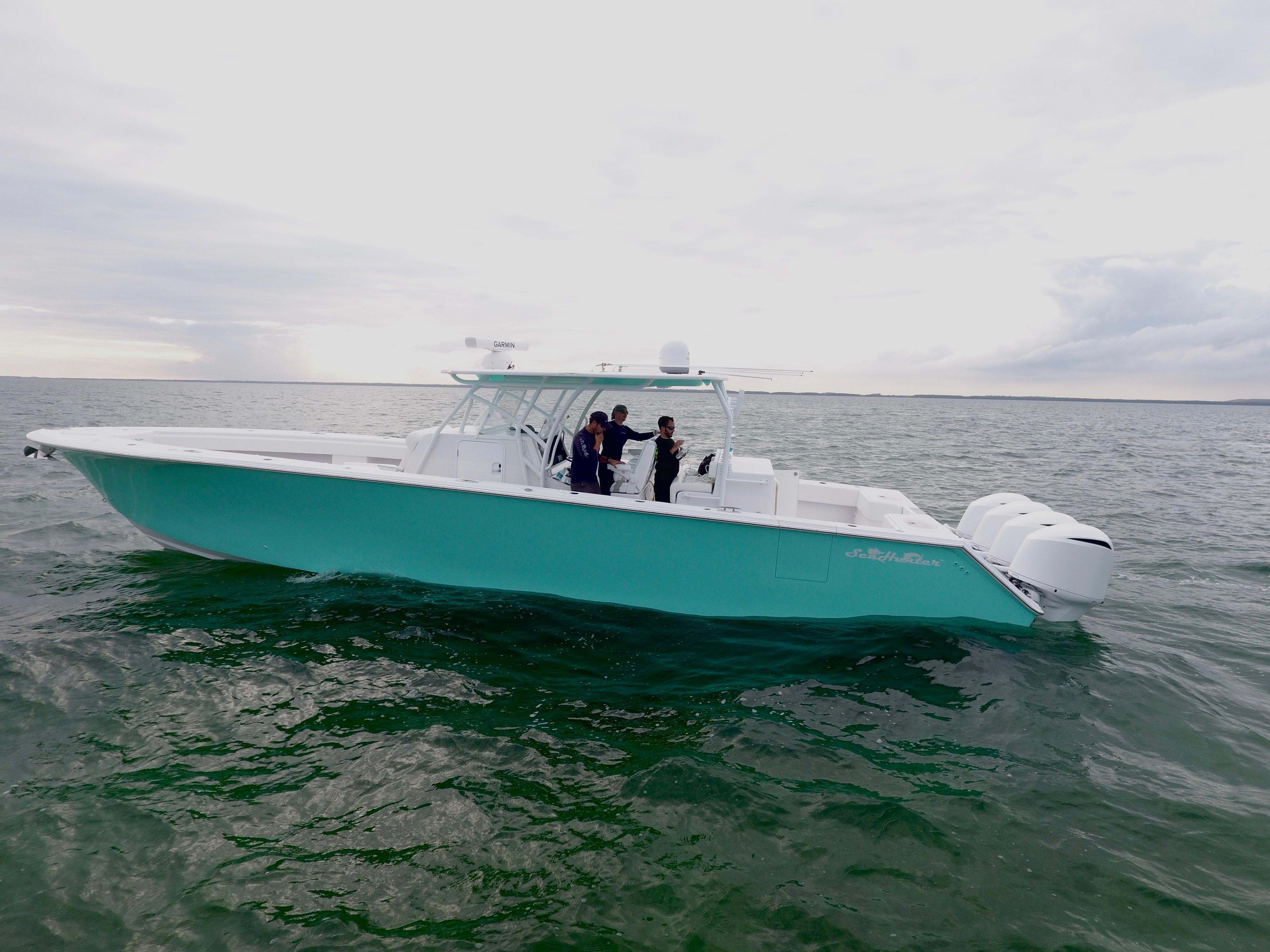 Sea Hunter Boats >> 45 Seahunter 2017 Key Largo Denison Yacht Sales