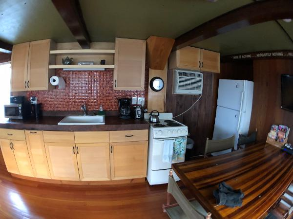 Custom Houseboat BoatsalesListing Maine