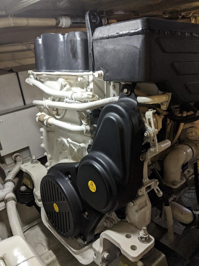 Carver 56 Voyager SE - Starboard Engine
