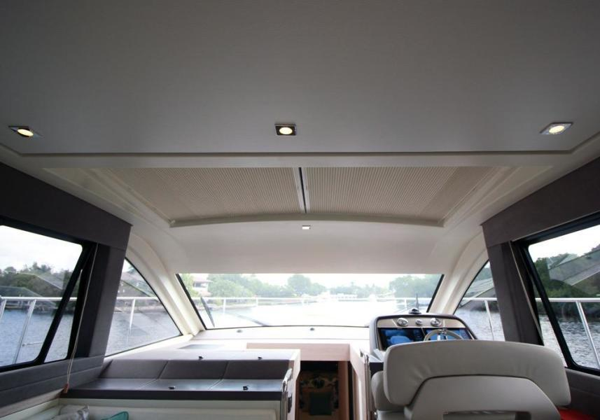Sunroof with shades closed