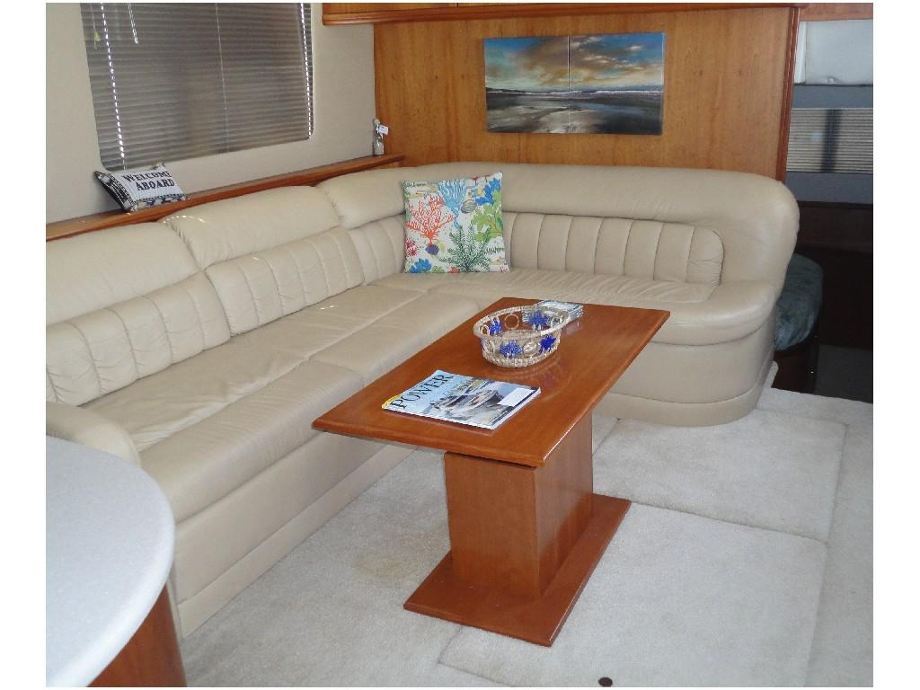 Silverton 43 Motor Yacht - Custom High / Low Table