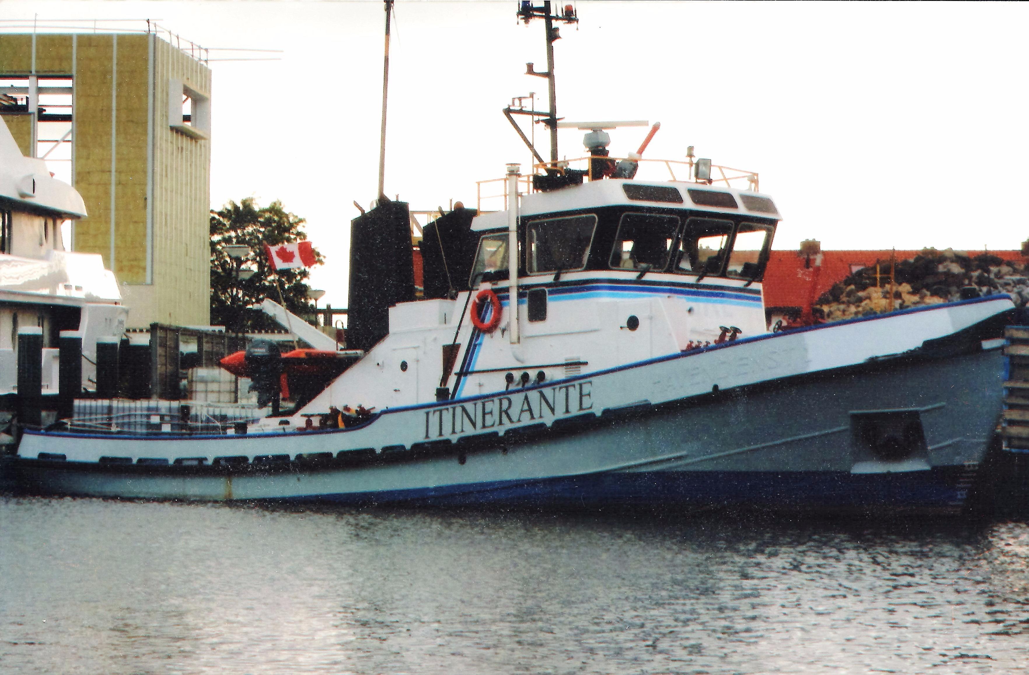 Coastal Tug Tugboat