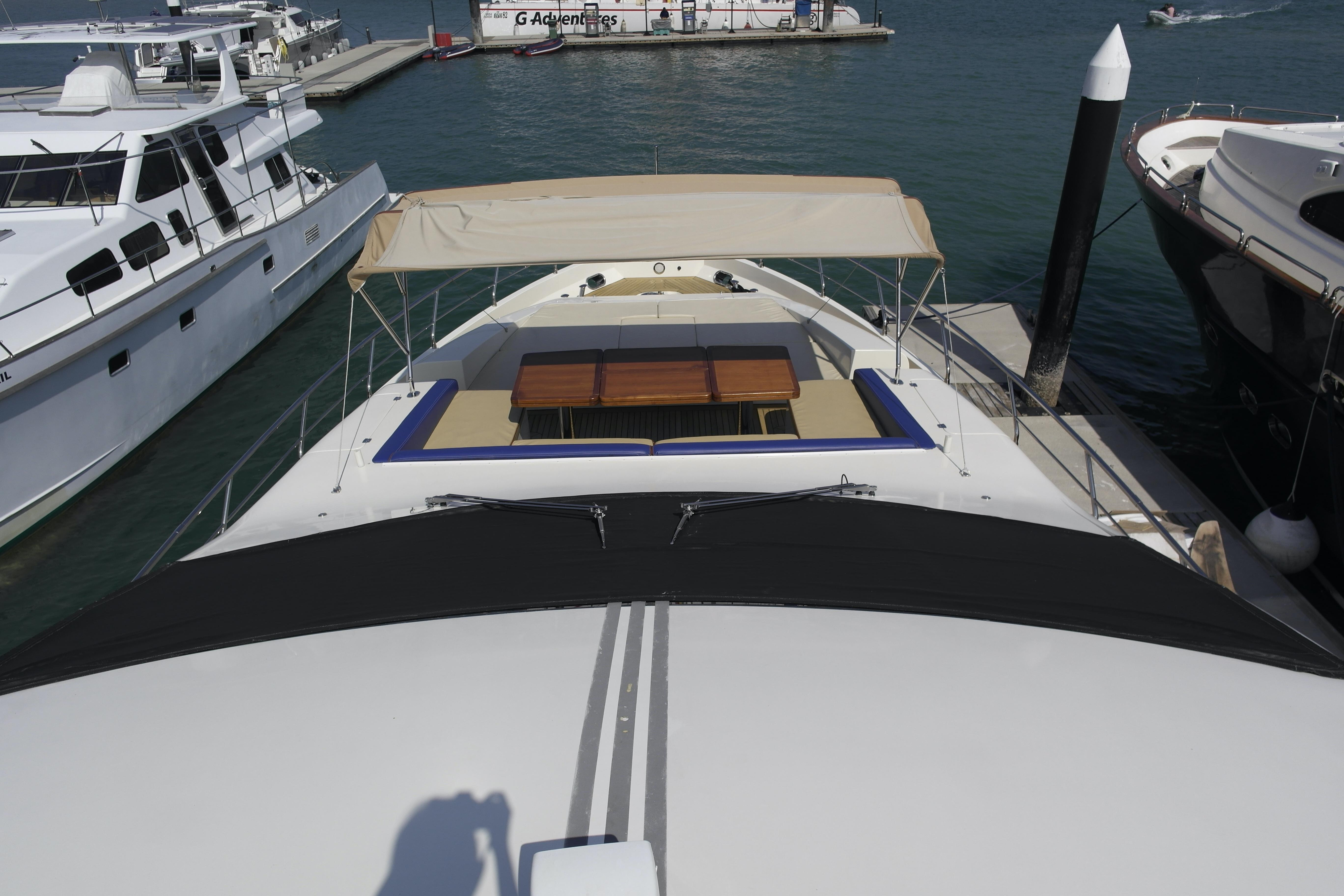 Bow seating and canopy