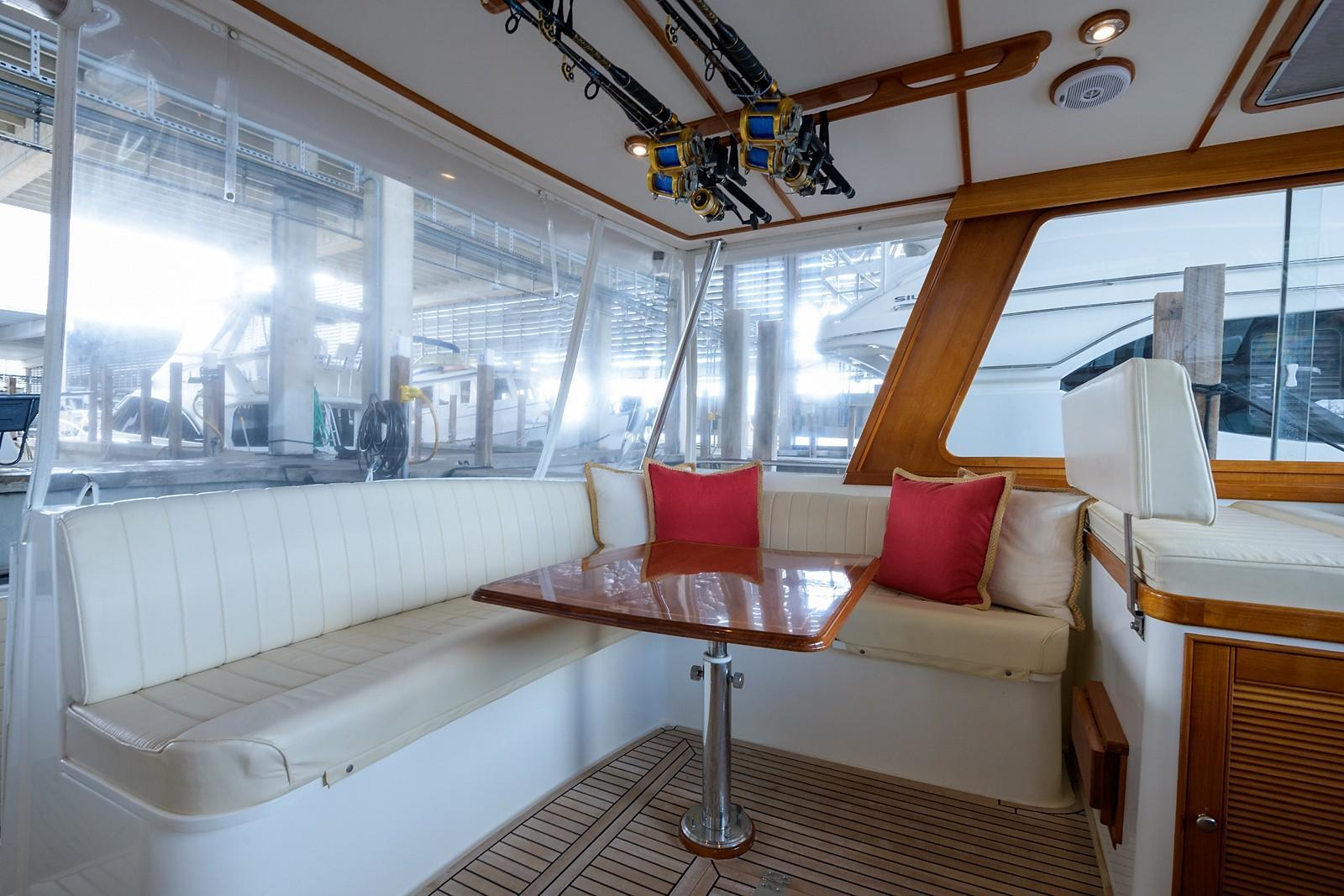 Helm Deck, Port Aft
