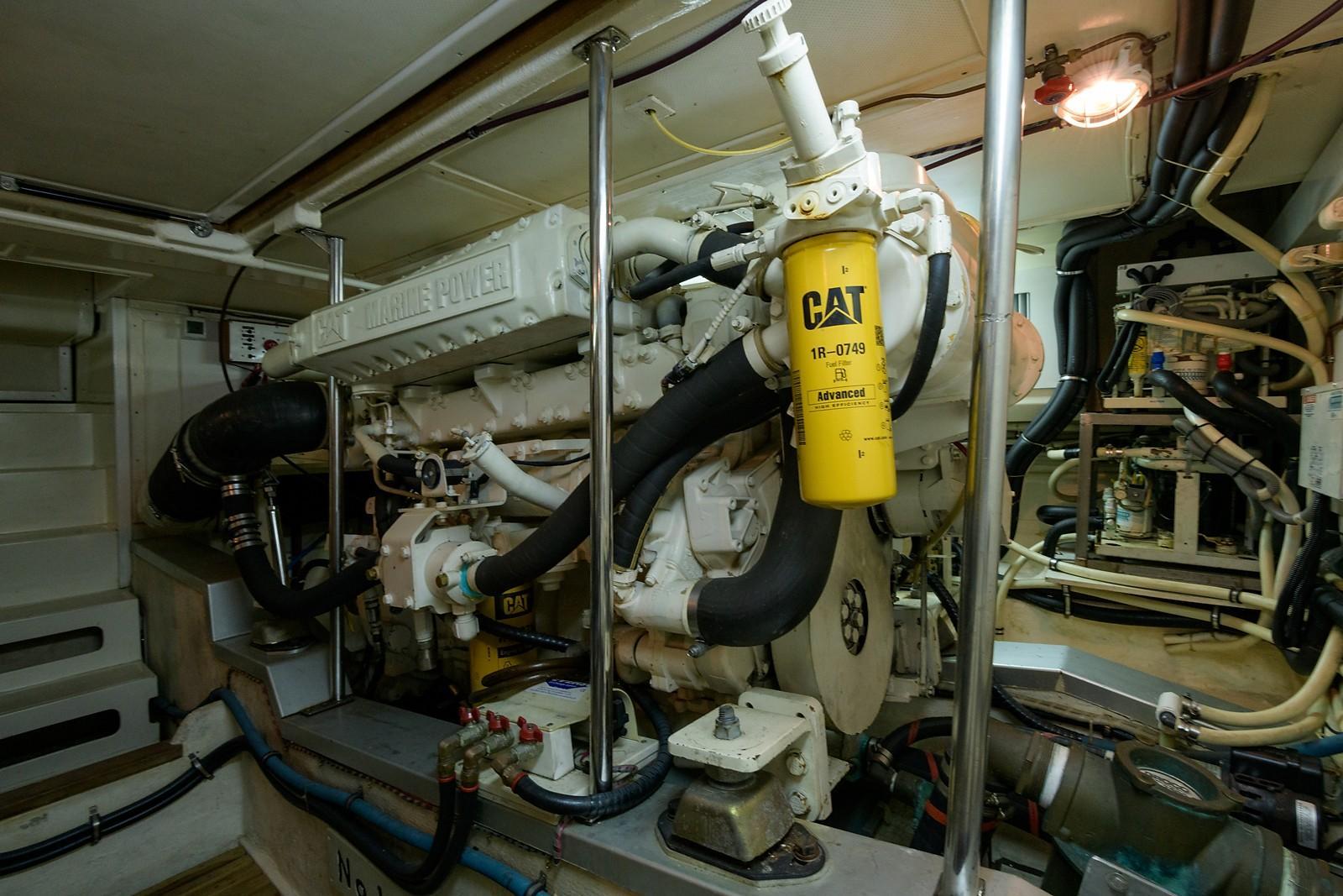 Engine Room, Port Engine