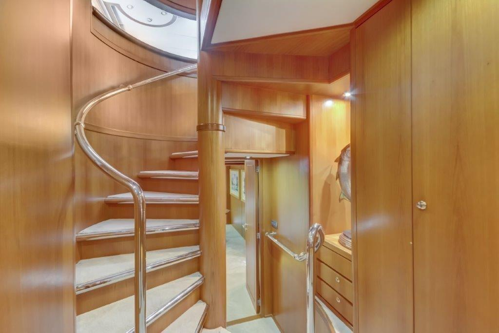 Stairwell to Guest Accommodations