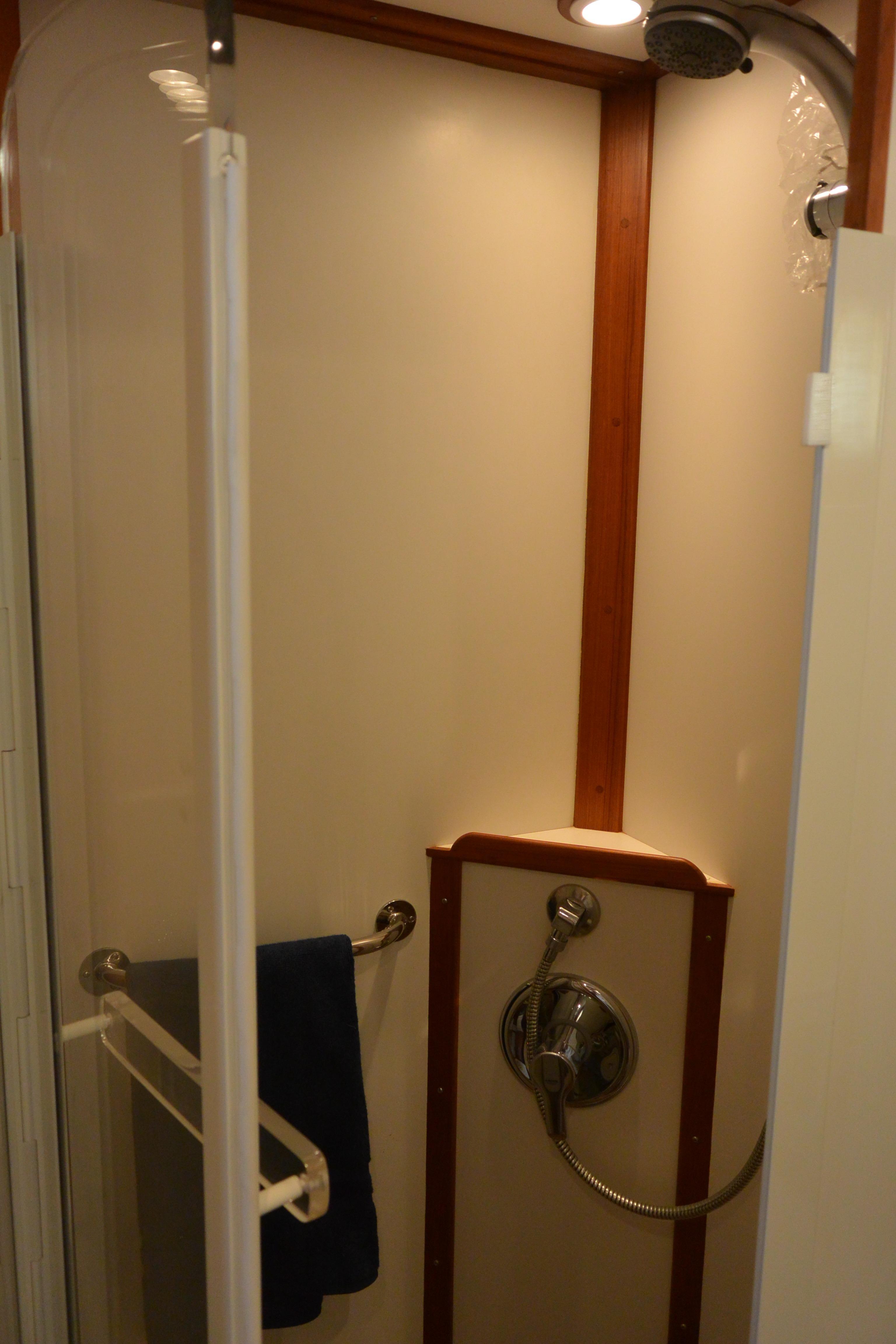 Enclosed Master Shower