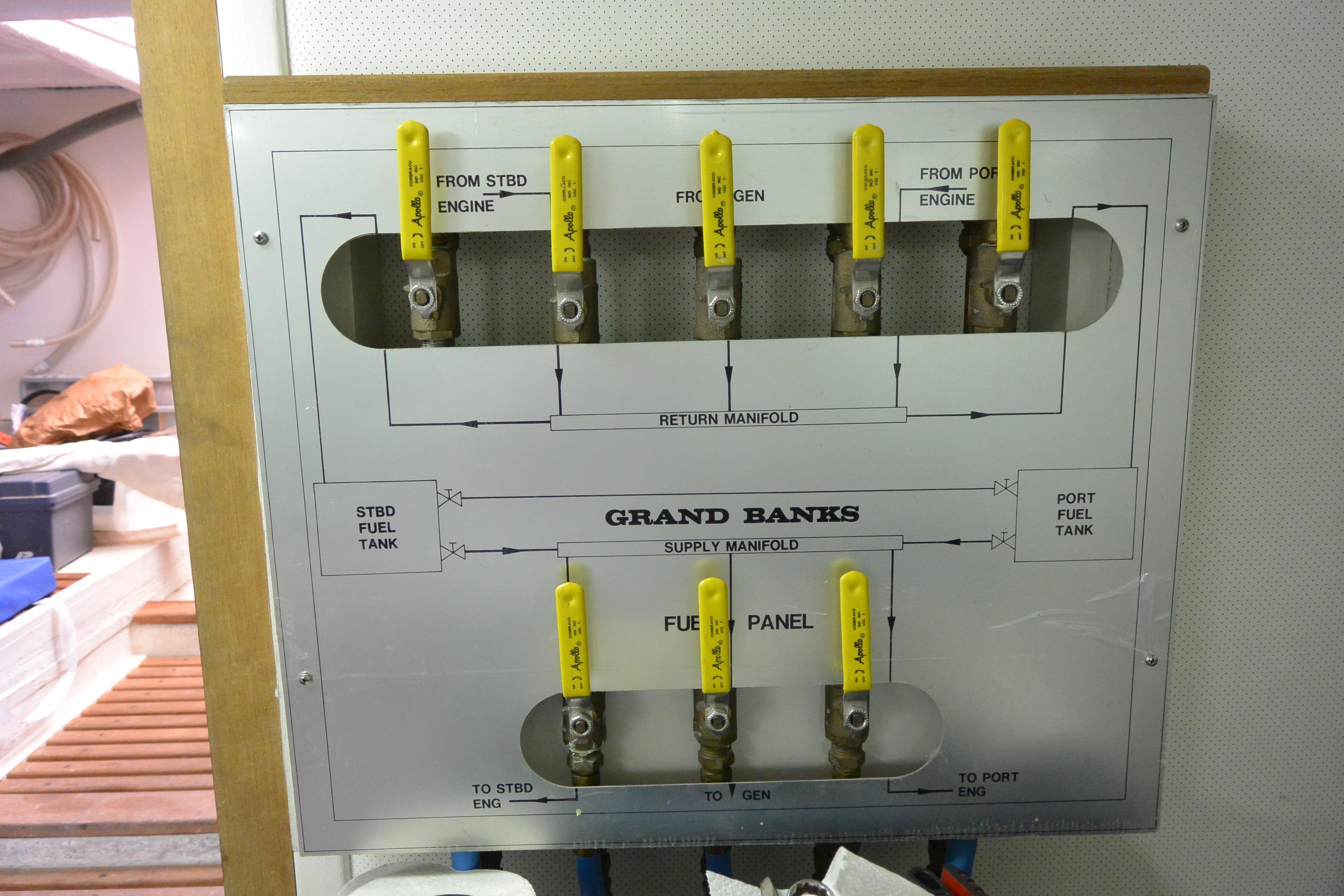Engine room fuel controls