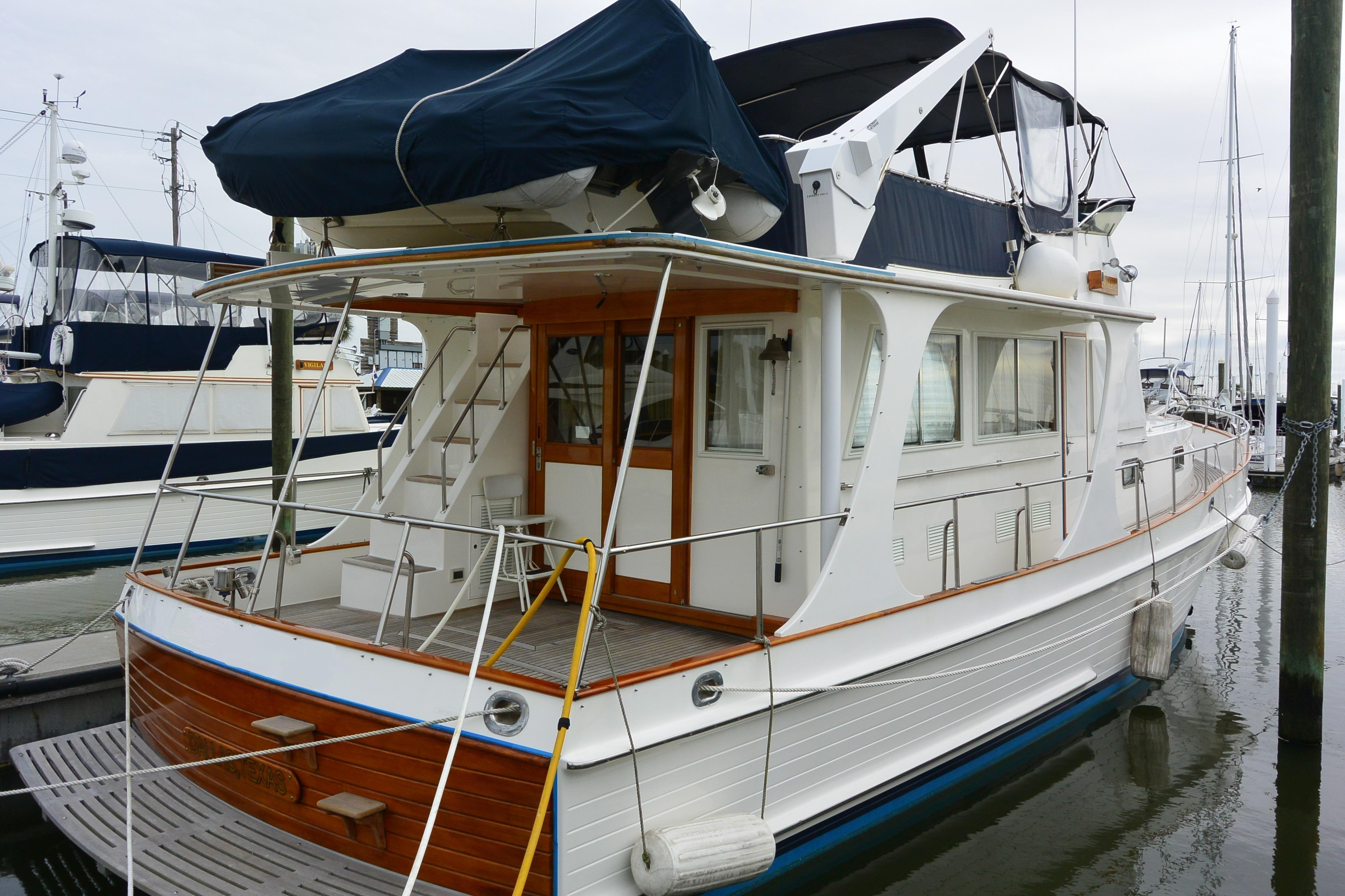 Side view - aft deck