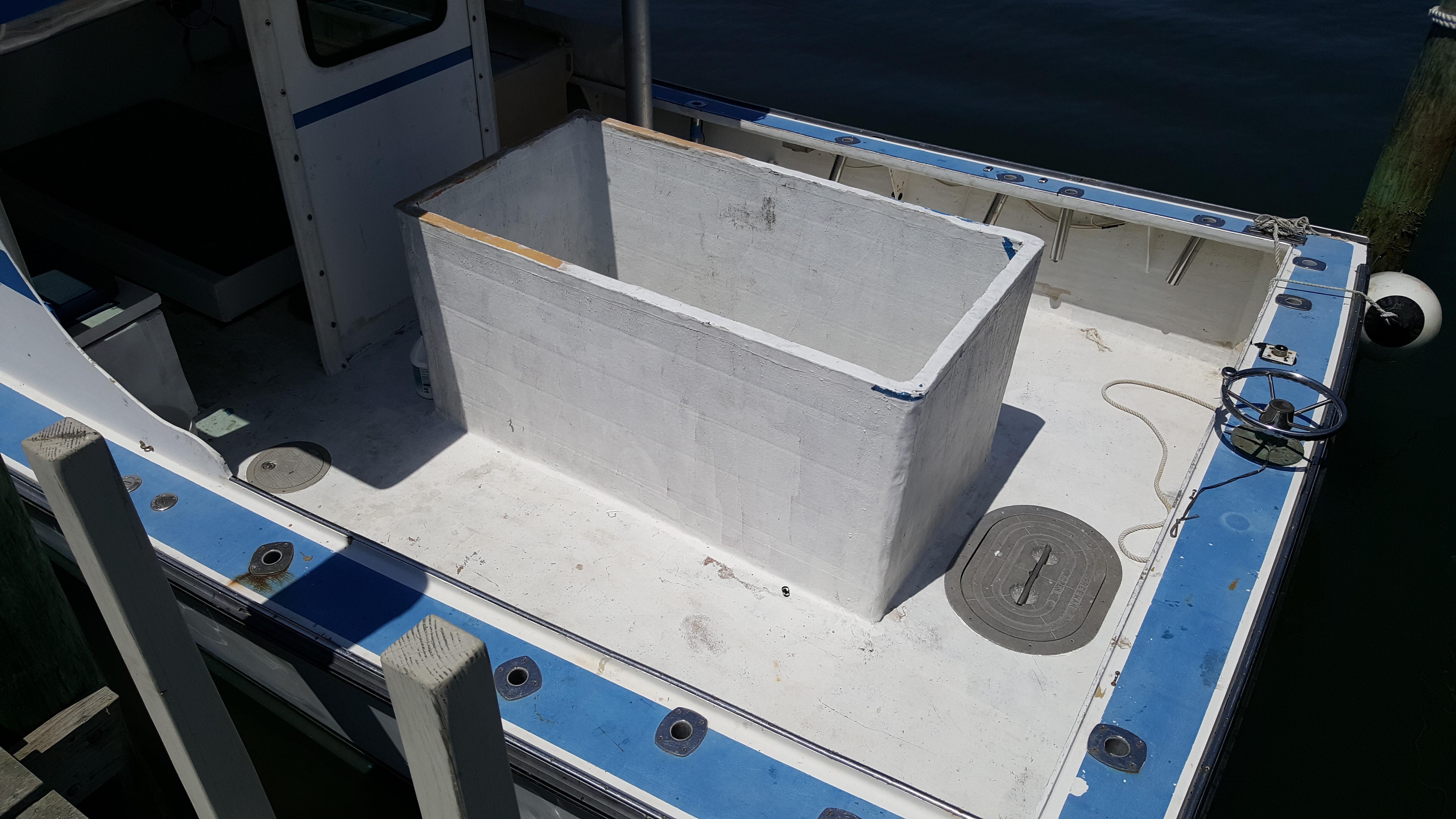 Mitchell Cove35' Downeast Lobster Tuna Boat