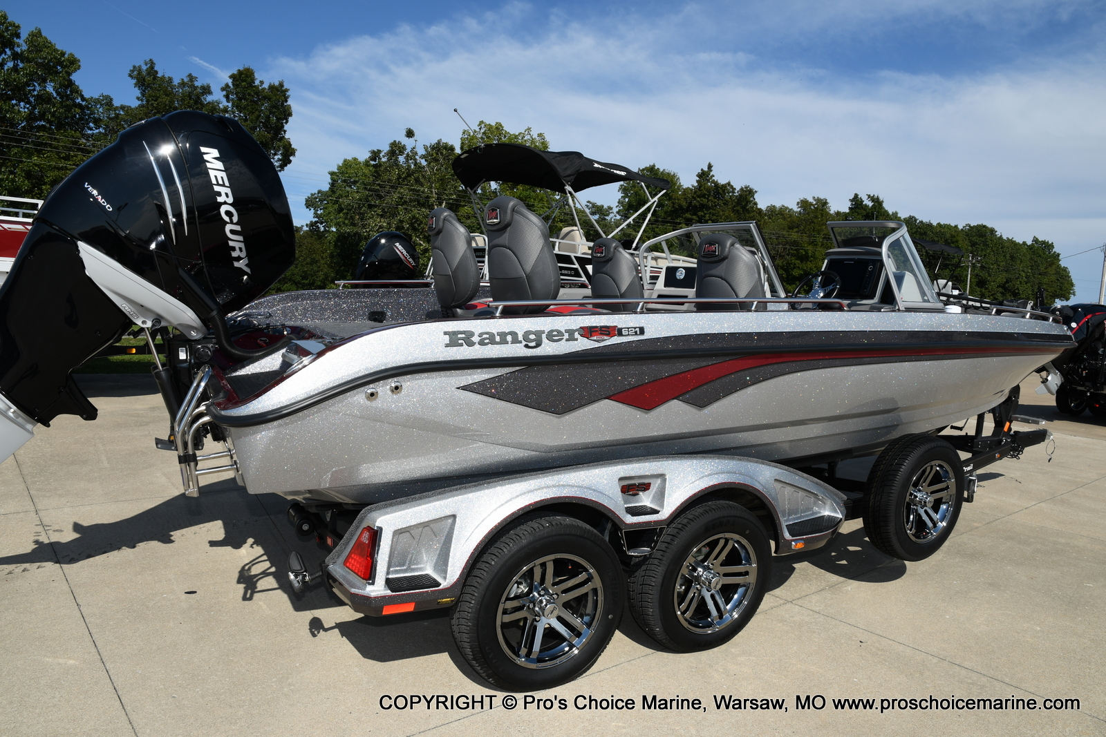 2021 Ranger Boats boat for sale, model of the boat is 621FS PRO w/400HP VERADO & Image # 43 of 50