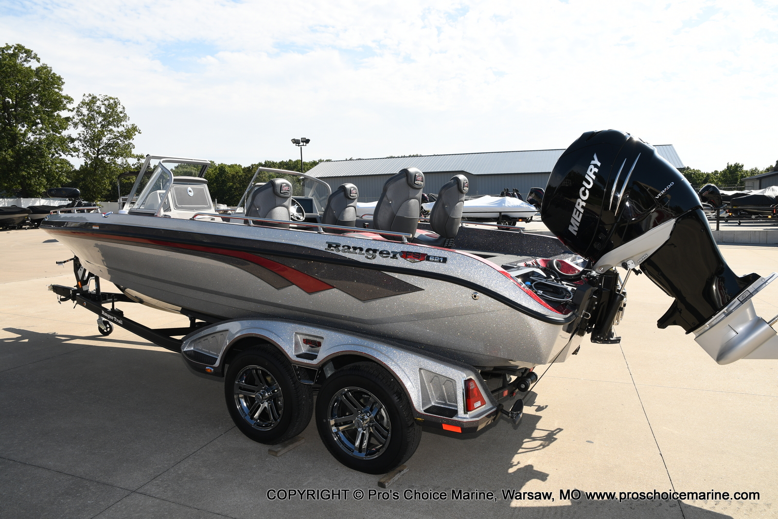 2021 Ranger Boats boat for sale, model of the boat is 621FS PRO w/400HP VERADO & Image # 27 of 50