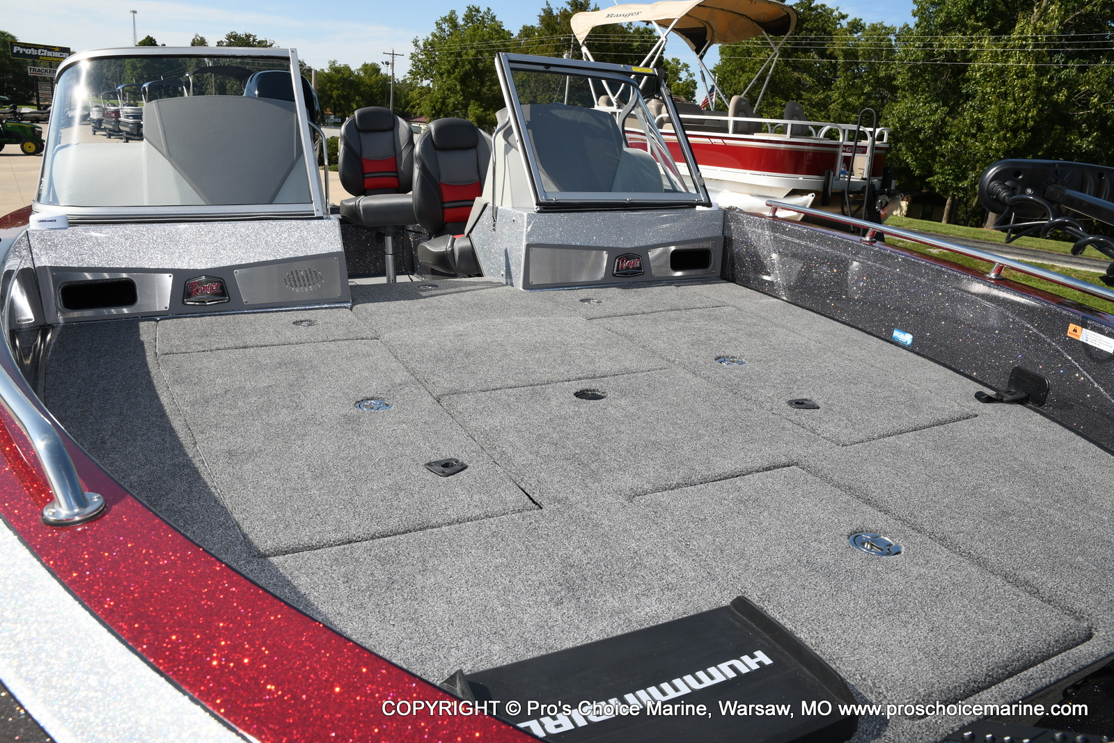 2021 Ranger Boats boat for sale, model of the boat is 621FS PRO w/400HP VERADO & Image # 29 of 50