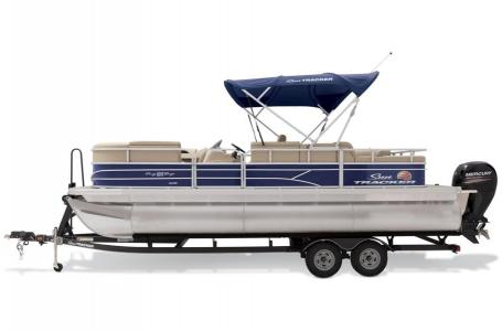 2019 Sun Tracker boat for sale, model of the boat is PARTY BARGE 22RF XP3 w/ Mercury 150Hp 4S & Image # 11 of 16
