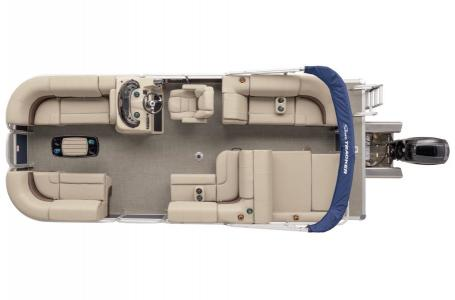 2019 Sun Tracker boat for sale, model of the boat is PARTY BARGE 22RF XP3 w/ Mercury 150Hp 4S & Image # 15 of 16