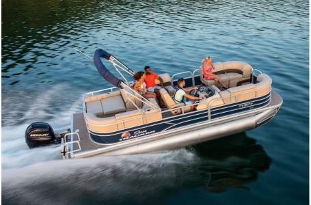 2019 Sun Tracker boat for sale, model of the boat is PARTY BARGE 22RF XP3 w/ Mercury 150Hp 4S & Image # 7 of 16