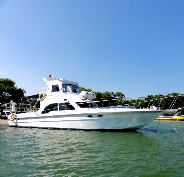 46 ft Fiberglass Cruiser / 14 meter Kapal Mancing
